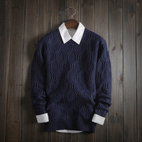 Men's Comfortable Soft Knit Sweater