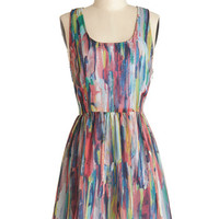 Jack by BB Dakota Festival Mid-length A-line After the Rainstorm Dress
