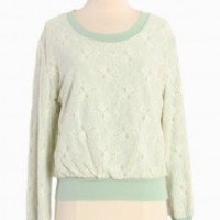 Sweet Pea Lace Pullover