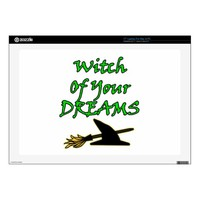 Witch Of Your Dreams Decal For Laptop