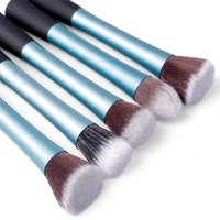 Professional Makeup Foundation Powder Kabuki Brush Set Kit (5 pcs)