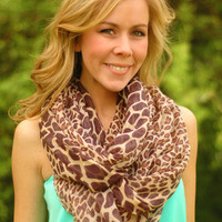 Page 6 Boutique - Giraffe Infinity Scarf