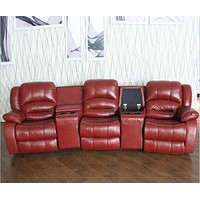 Luxurious Leather Recliner Sofa
