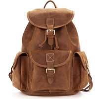 Classic Russet American Leather Backpack