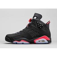 Air Jordan Retro 6 'Black Infrared'