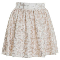 Lace Sequin Skater Skirt - View All  - New In