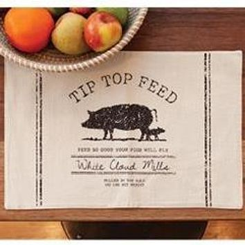 Tip Top Feed Farmhouse Placemat