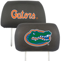 Florida Gators NCAA Polyester Head Rest Cover (2 Pack)