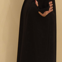 Black Rose Trail Abaya