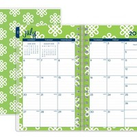 """Dabney Lee for Blue Sky """"Clementine"""" Small Tabbed Weekly/Monthly Wire-O Planner"""