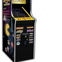 Pac Man Arcade Party Upright Video Game Machine at Brookstone—Buy Now!