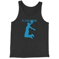 Flying Zion Basketball Jersey Tank Top for Men