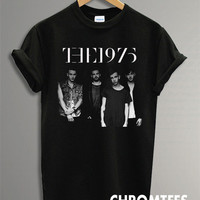 the 1975 shirt the 1975 band t-shirt printed black unisex size (CR-20)