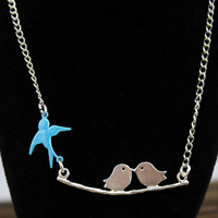 Mother's necklace - sisters necklace, silver pendant - the best Christmas gift friendship