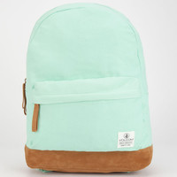 Volcom Supply & Demand Backpack Mint One Size For Women 26216752301