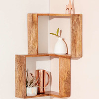 Maggie Corner Wall Shelf | Urban Outfitters