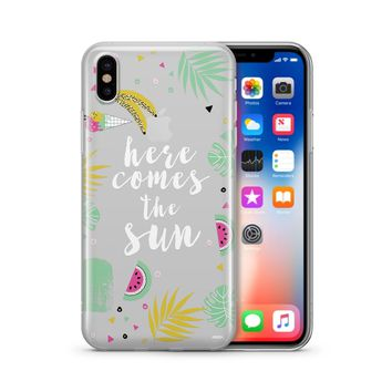 Here Comes The Sun - Clear Case Cover