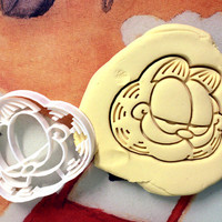 Garfield Cookie Cutter great for cutting Bread, Cheese, Soft fruit and more