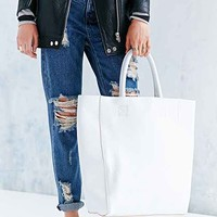 BDG Tumbled Leather Tote Bag-