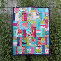 Multicolored Baby Play Quilt