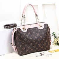 Louis Vuitton LV classic chain handbag coin purse mobile phone bag fashion lady shoulder messenger bag