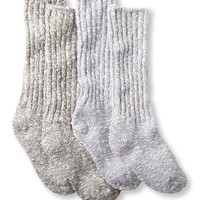 Women's Cotton Ragg Camp Socks, 2-Pack: Socks | Free Shipping at L.L.Bean