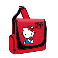 Hello Kitty KT4339RV Vertical Messenger Style Laptop Case