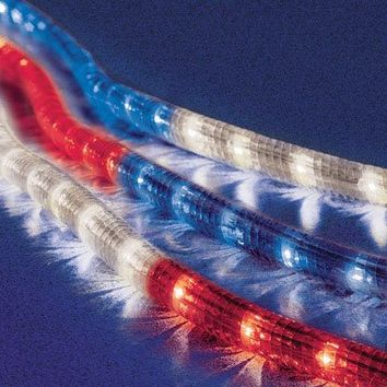 Celebrations Rope Lights 18', Red, White and Blue:Amazon:Home & Kitchen