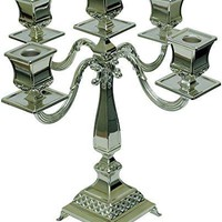 5th Avenue Collection Silver Plated Candelabra