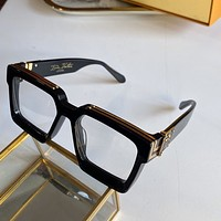 LV Louis Vuitton Fashion Woman Summer Sun Shades Eyeglasses Glasses Sunglasses