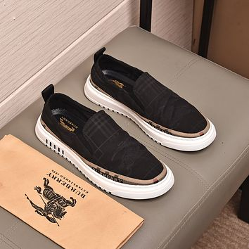 Burberry 2021 Men Fashion Boots fashionable Casual leather Breathable Sneakers Running Shoes07220cc