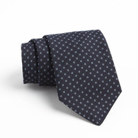 Fulton Tie in Navy open circle