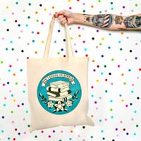 Don't Bother - I'm Booked Canvas Tote Bag