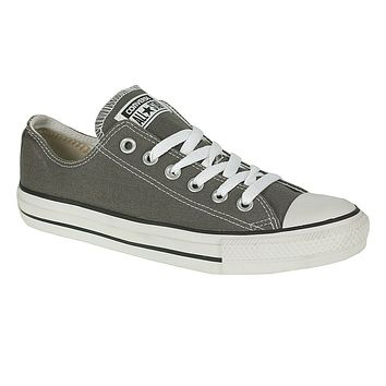 Converse Chuck Taylor All Star Low Top Shoes 1J794 Charcoal Gray/White Womens