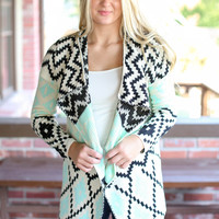 Mint To Be Cardigan