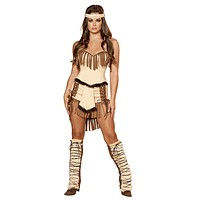 Sexy Tonto Lone Ranger Indian Halloween Costume
