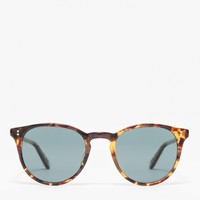 Garrett Leight / Milwood 46 Dark Tort/Blue