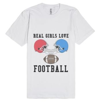 Love The Game-Unisex White T-Shirt