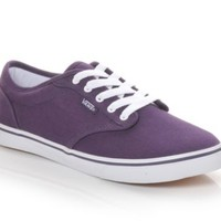 Women's Vans Atwood Low Grape/White | Shoe Carnival