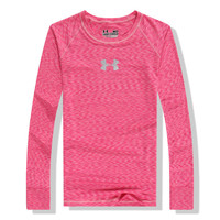 Under Armour Woman Casual Sport Gym Yoga Running Long Sleeve Shirt Top Tee