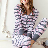 The Fireside Long Jane Pajama - The Fireside Collection - Victoria's Secret