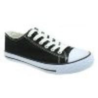 Converse Inspired Back To School Sneakers - Black