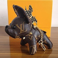 Louis Vuitton LV Cute Dog Bag Charm And Key Holder