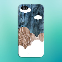 Colored Wood x Cloud Cortex Phone Case for iPhone 6 6 Plus iPhone 5 5s 5c 4 4s Samsung Galaxy s5 s4 & s3 and Note 5 4 3 2