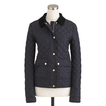 Quilted tack jacket - wool & puffer jackets - Women's outerwear - J.Crew