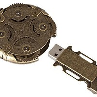 Cryptex Round Lock USB Flash Drive 32 GB, USB 3.0