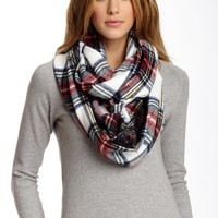 Betsey Johnson | Betsey Johnson Plaid Infinity Scarf | Nordstrom Rack