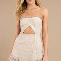Moment Like This Strapless Dress