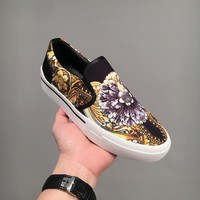 Versace Slip On Sneakers Dsu6780 - Best Online Sale