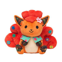 Pokemon Vulpix Plush Toy Cute Vulpix Soft Stuffed Animals Toys Doll Gifts for Kids Children With Tag 19cm